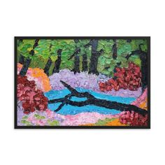 , Create a unique and personalized Ambiance in your Home and Office Timeless Beauty, Framed Art, Woodland, Original Paintings, Alternative, Walls, Scene, Key, Create