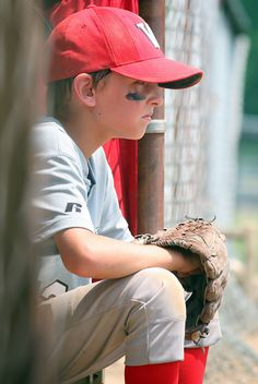 The memories this picture brings of my two boys playing baseball!  :-)
