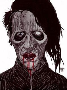 zombie maylin manson