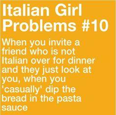 girls lick Italian