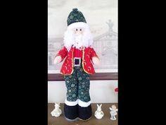 Cómo Hacer Un Papa Noel De Pie - Manualidades Navideñas - Navidad