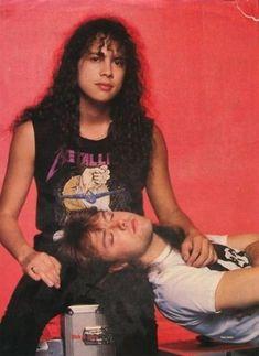 Lars Ulrich & Kirk Hammett (Metallica)