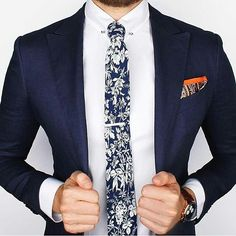 Love this floral tie