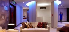 Rafayel Hotel, London UK.   LED lighting supplied by Philips, Rafayel has reduced its carbon footprint significantly.