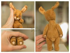 Artist Cute Teddy Bear & Bunny pattern teddy от Listeningdwarfs #teddy #bear #teddybear #handmade #artdoll #ooakteddy #toy #bunny #teddybunny #rabbit #teddyrabbit #motherday