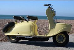 1955 scooter PEUGEOT S 57.