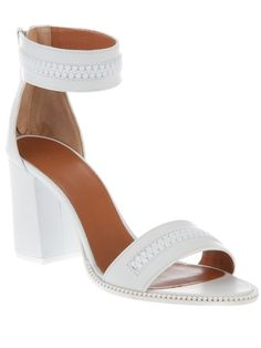 Givenchy white sandals for summer