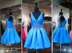 Check out this super cute turquoise dress and it has pockets too! And it's at Rsvp Prom and Pageant, your source for the HOTTEST Prom and Pageant Dresses!