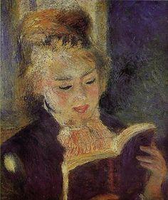 Auguste RENOIR - La Liseuse (1874-1876)