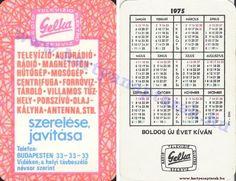 1975 - 1975_0393 - Régi magyar kártyanaptárak
