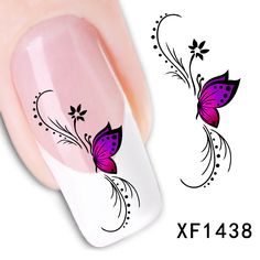 Compare Prices on Butterfly Nail Designs- Online Shopping/Buy Low ...