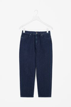 COS | Straight-fit cropped jeans For the love of denim
