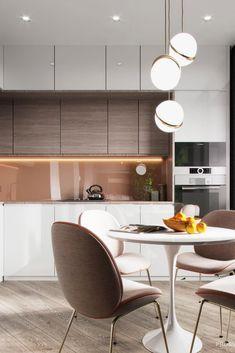 98 Wonderful Modern Kitchen Style ~ Top Home Design Kitchen Room Design, Modern Kitchen Design, Living Room Kitchen, Dining Room Design, Home Decor Kitchen, Interior Design Kitchen, Kitchen Furniture, Interior Design Living Room, Kitchen Ideas