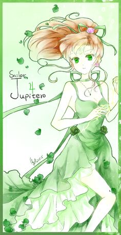Sailor Jupiter, as a child I felt I related to her and Usagi / Serena the most. They both represent child innocence and play in the stage of child meeting adult. I loved their ability to understand others due to their nature to perceive others and their surroundings instead of immediately judging
