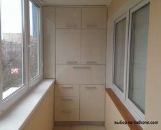 Как красиво сделать шкаф на балконе (26 фото)