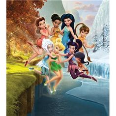 Disney - Fotomurales Infantiles de Disney, Fairies