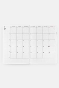 Buy Hobonichi - 2020 Techo Planner Refill - Daily - A6 (10.5x15cm) - English - Black - Milligram Stationery. milligram.com Buy Stationery Online, Stationery Shop, Hobonichi Techo, Refillable Planner, Planner Layout, Yearly Calendar, Page Layout, Daily Quotes, Bullet Journal