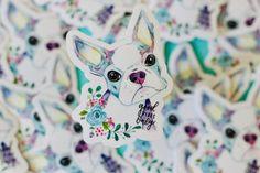 King Charles Spaniel, Cavalier King Charles, Mimi Boutique, Shih Tzu Puppy, Cartoon Dog, Sticker Design, Boston Terrier, Dogs And Puppies, Original Artwork