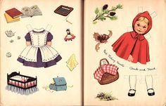 Miss Missy Paper Dolls: Little Red Riding Hood