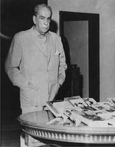 Romulo Gallegos ex presidente de Venezuela y gran Escritor.