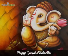 May Lord Ganesh shower you with success in all your Endeavours. Happy Ganesh Chaturthi.