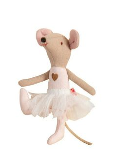 So Fofo - Ballerina Mouse, $32.00 (http://www.sofofo.com.au/ballerina-mouse/)