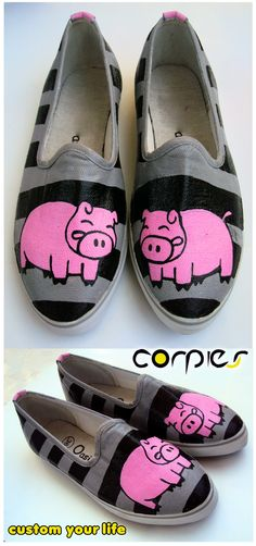 pink pig shoes, who wouldn't want them?!!!