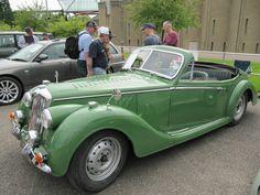Riley RMA 1.5 litre conversion 1949 seen at Beaulieu Spring 2014 Autojumble