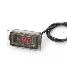 #BangGood - #Eachine1 Car Auto Mini Digital LED Voltage Display Panel Volt Meter Voltmeter - AdoreWe.com