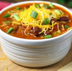 Make Your Own Wendy's Chili