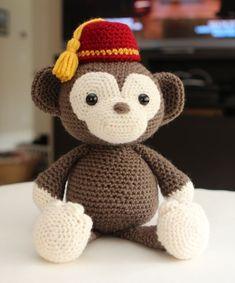 Hurdy Gurdy Monkey by Little Muggles