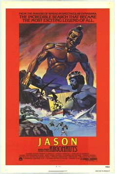 I will have to say, one of my favorite movies is Jason and the Argonauts. I don't know why, but I just feel like I know the main character somehow.