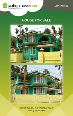 House for Sale in kurumbissery,Irinjalakuda@ Negotiable For more information please click on:-http://goo.gl/RXVjrx Buy/sell/rent Properties???....Log on to www.sichermove.com or call 9061681333/222/444... See more