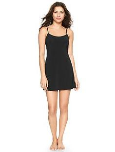 Gap Full slip  How did it take this long for the Gap to some out with a slip?  Great underlayer for all those fall sweater dresses.  $26.95