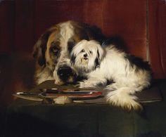Primero de dos posts para revisar el trabajo de uno de los pintores británicos clásicos especialistas en perros que más me gustan.       ...