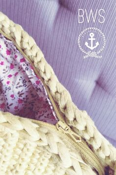 Yellow Crochet Clutch