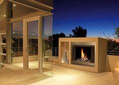 freesstanding fireplace