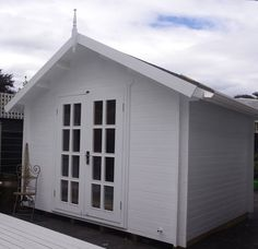Your She Shed is anything but ordinary. #beautifulshed