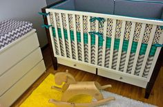 Bumpers with UPGRADES/ Sheet/ Skirt Modern Baby by modifiedtot, $315.00