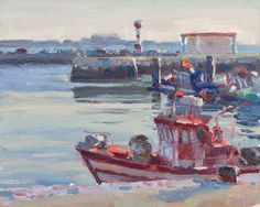 Lena Rivo's Painting Blog: Boats at Rest