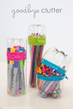 From Trash to Treasure: 20 Recycled Crafts for Kids crafts crafts crafts crafts crafts Recycled Crafts Kids, Crafts For Teens, Easy Crafts, Diy And Crafts, Crafts For Kids, Kids Diy, Easy Diy, Reuse Plastic Bottles, Plastic Bottle Crafts