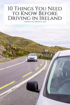 10 Things You Need to Know Before Driving in Ireland 10 things you need to know before driving in Ireland & road tripping around the country. Maui Vacation, Ireland Vacation, Ireland Travel, Backpacking Europe, Travel Advice, Travel Tips, Ireland Attractions, Bucket List Europe, Driving In Ireland