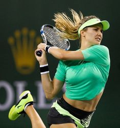 The list of Top 10 Hottest Female Tennis Players of All Time. Here is a detail descreption and Photos of most famous glamorous beauty queens of tennis Tennis Stars, Sport Tennis, Play Tennis, Eugenie Bouchard, Professional Tennis Players, Tennis Players Female, Athletic Girls, Tennis Fashion, Tennis Clothes