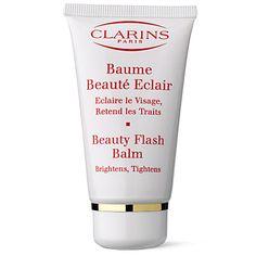 CLARINS  Beauty flash balm - Allure 2011 best brightener