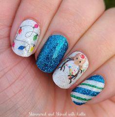 Chistmas Nails, Holiday Nails, Nail Color Combos, Nail Polish Colors, Nail Accessories, Color Street Nails, Beautiful Nail Art, Swag Nails, Toe Nails