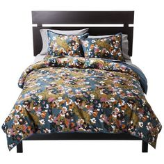 Threshold™ Floral Duvet Set - Green