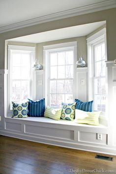 Bay Window Seat With Pillows Always Wanted A Living Room