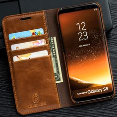 Musubo Luxury Stand Leather Case For Samsung Galaxy S8 Plus S7 Edge S6 Note 5 4 cover coque capa for iPhone X 8 Plus 7 6 6s 5s 5 //Price: $20.02 & FREE Shipping // #hashtag1