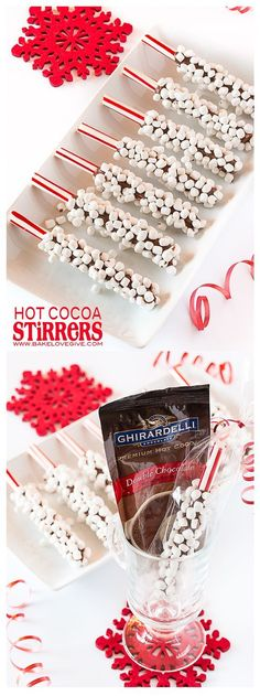 Hot Cocoa Stirrers - bakelovegive.com