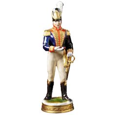 Handmade Handpainted British Soldier Figurines From Germany Are Based On Decorative Themes That Were Particularly Popular In The Century They Scully And Scully, Hobbies For Men, Military Figures, British Soldier, Bellisima, Princess Zelda, Wonder Woman, History, Antiques
